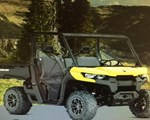 Utility Vehicle For Sale: 2018 Can-Am 2018 DEFENDER DPS HD8 YELLOW SKU # 8EJB