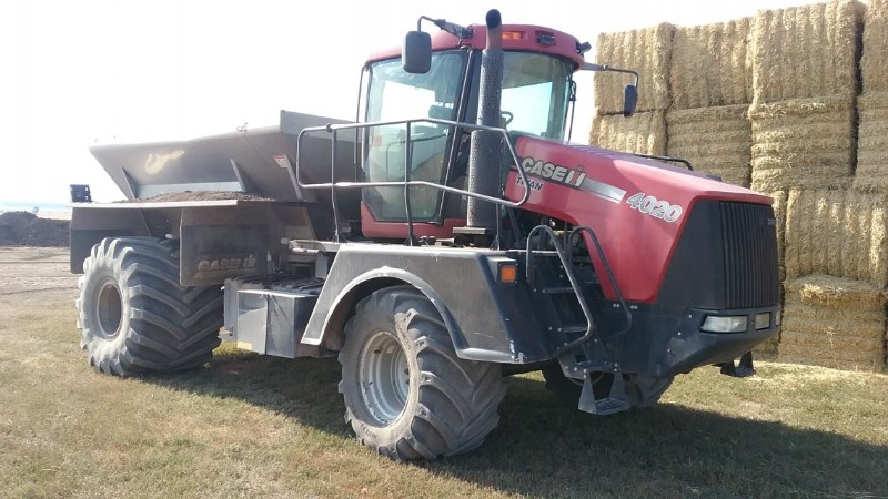 2008 Case IH 4020 Floater/High Clearance Spreader For Sale
