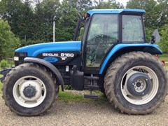 Tractor For Sale 1998 New Holland 8160 , 90 HP