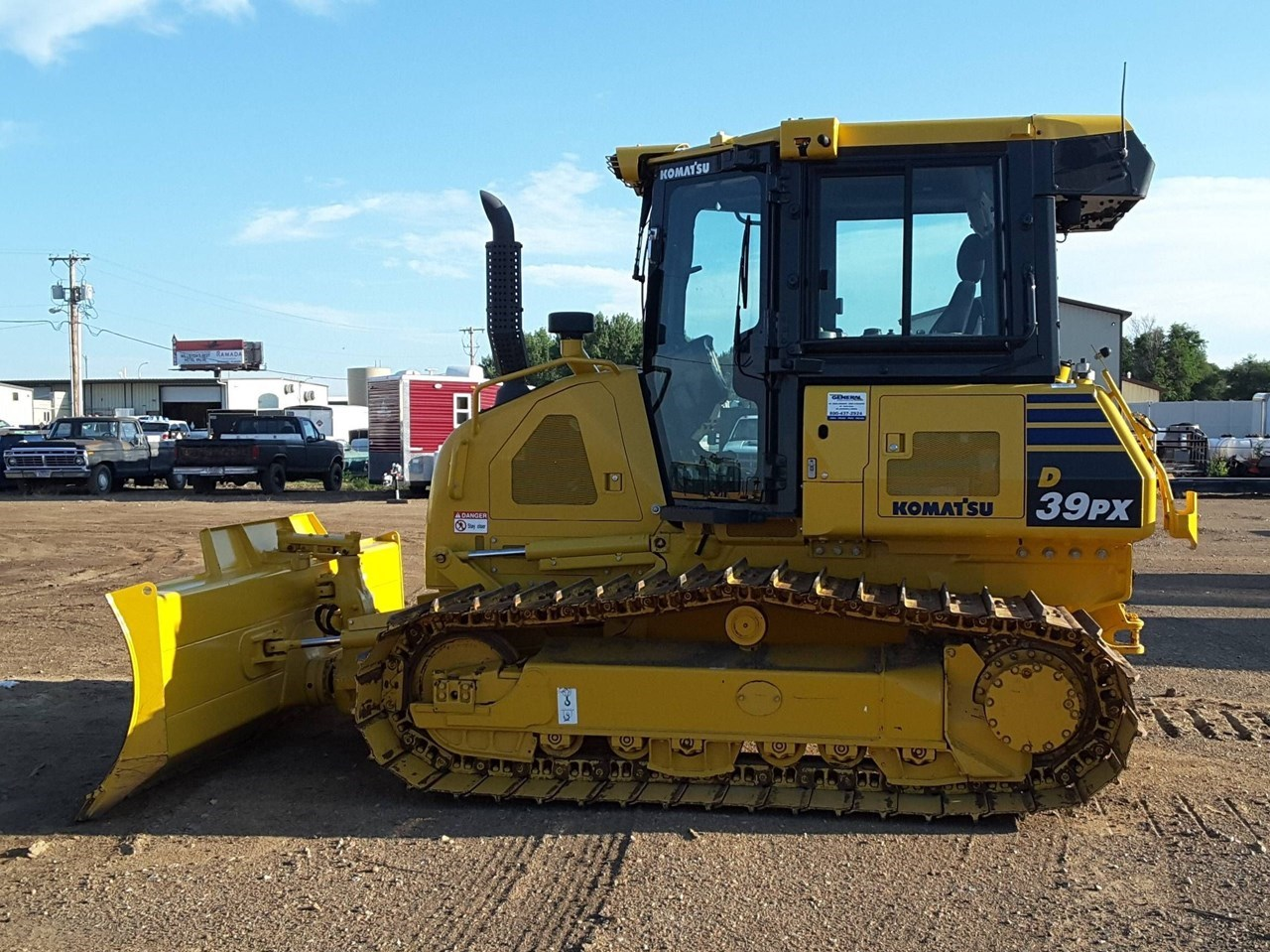 2018 Komatsu D39PX-24 Crawler Tractor For Sale