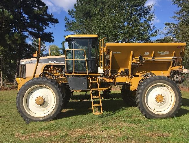 2009 RoGator SS 1084 Floater/High Clearance Spreader For Sale