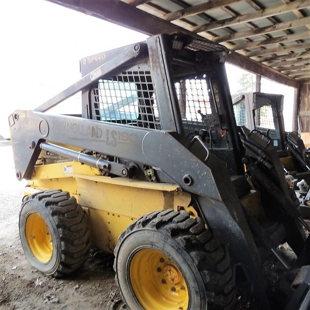 2003 New Holland LS190 Skid Steer For Sale
