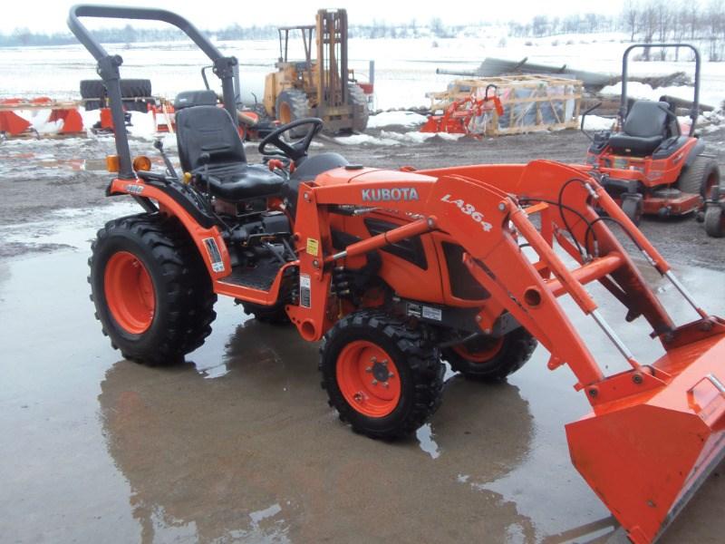 2014 Kubota B2620HSD Tractor For Sale
