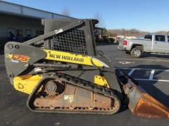 Skid Steer-Track For Sale 2007 New Holland C175 , 60 HP