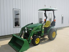 Tractor - Compact For Sale 2015 John Deere 2025R , 25 HP