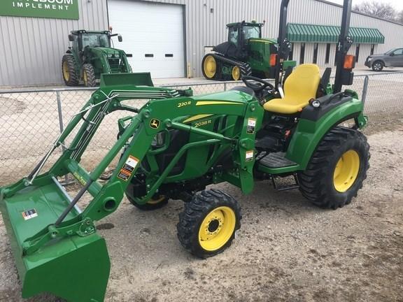 2017 John Deere 2038R Tractor For Sale