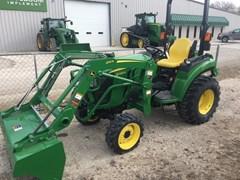 Tractor For Sale:  2017 John Deere 2038R , 38 HP