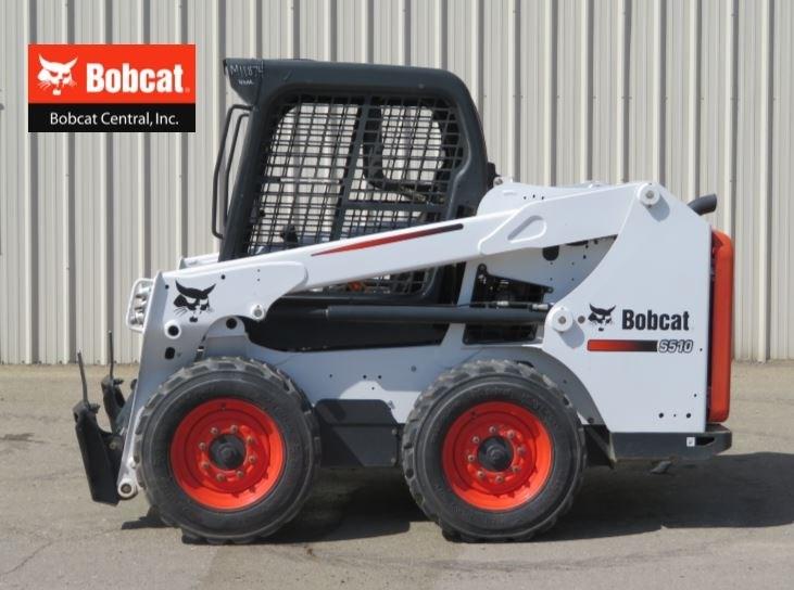 2016 Bobcat S510 Skid Steer For Sale