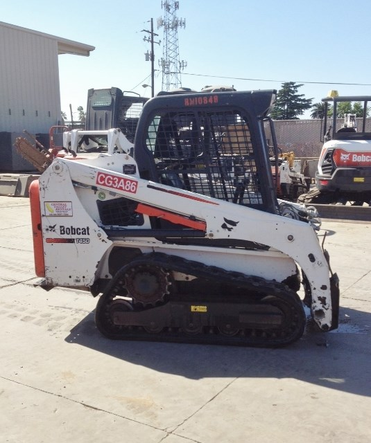2015 Bobcat T450 Skid Steer-Track For Sale