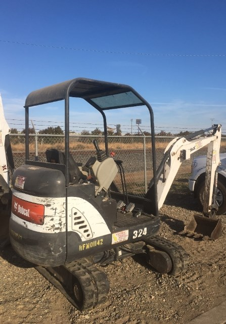 2012 Bobcat 324 Excavator-Track For Sale