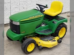 Riding Mower For Sale 1999 John Deere 325 , 18 HP