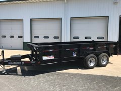 Dump Trailer For Sale 2018 Diamond C 24LPD-16X82