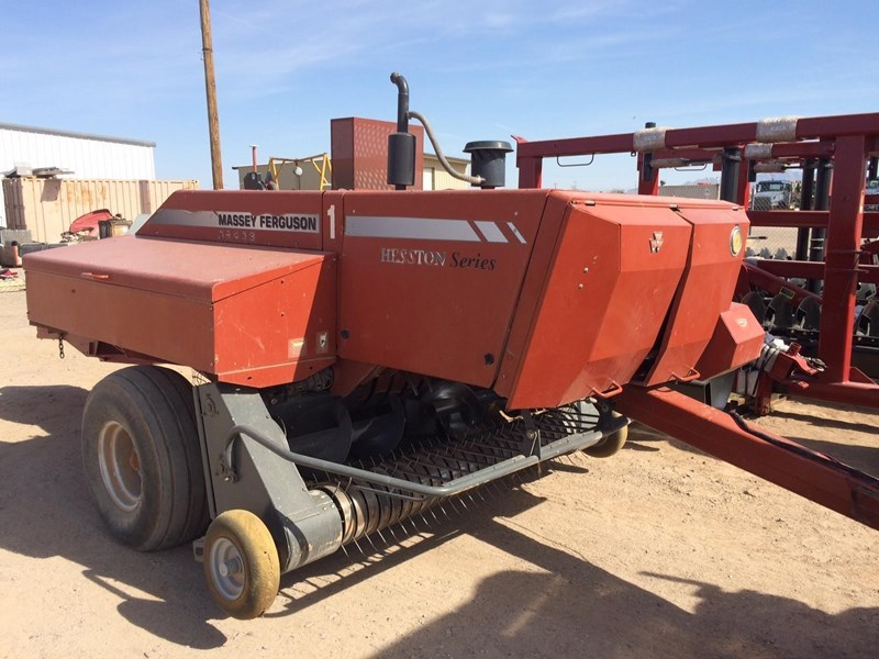 2009 Massey Ferguson 1843S Baler-Square For Sale