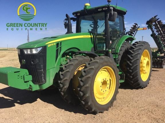 2015 John Deere 8370R Tractor For Sale