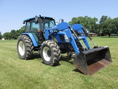 Tractor For Sale 2008 New Holland T5060 , 105 HP