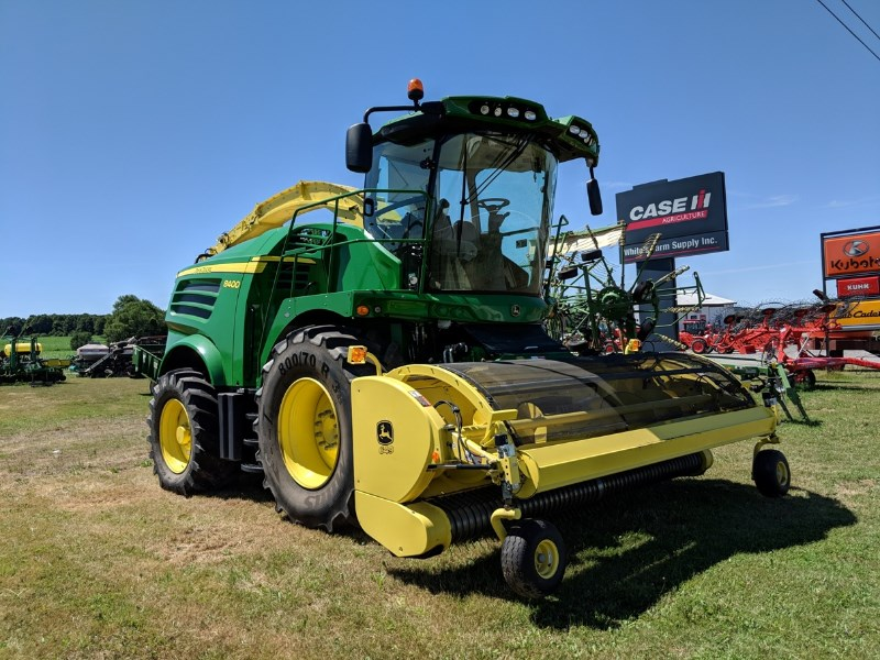 2016 John Deere 8400 Forage Harvester-Self Propelled For Sale