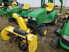 Riding Mower For Sale 2002 John Deere 425 , 20 HP