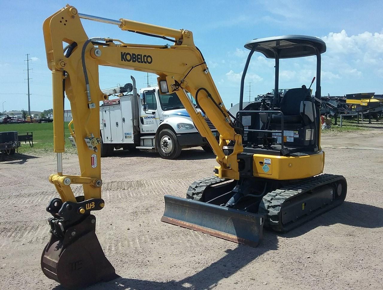 2018 Kobelco SK30SR-6E Excavator Mini For Sale