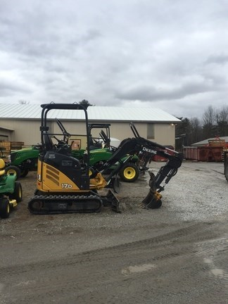 2014 John Deere 17D Excavator-Mini For Sale