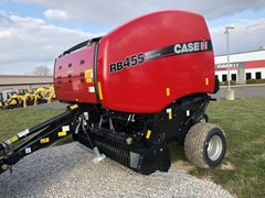 Baler-Round For Sale 2018 Case IH RB455