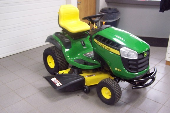 2017 John Deere D155 Riding Mower For Sale