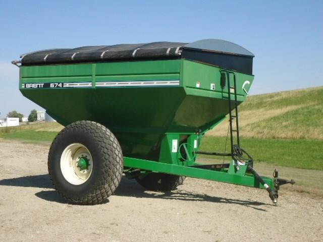 2001 Brent 674 Grain Cart For Sale