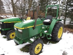Tractor - Compact Utility For Sale 1991 John Deere 870 , 28 HP