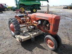 Tractor For Sale 1947 Allis - Chalmers C