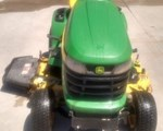 Riding Mower For Sale: 2011 John Deere X320, 22 HP