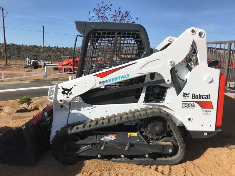 Bobcat T590 T4 Skid Steer-Track