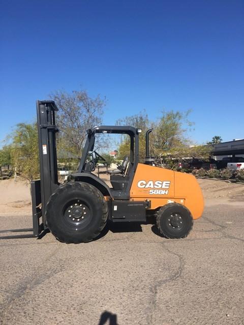 2017 Case 588H Lift Truck/Fork Lift-Rough Terrain