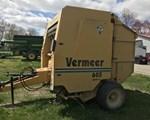 Baler-Round For Sale: 1998 Vermeer 605L