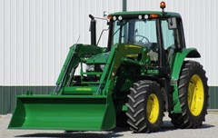 Tractor - Utility For Sale 2018 John Deere 6110M , 110 HP