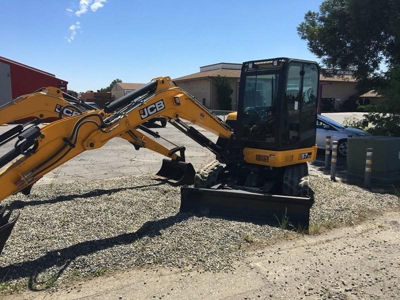 2017 JCB 57C-1 Excavator-Track