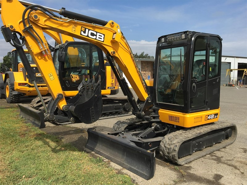 2018 JCB 48Z-1 Excavator-Mini For Sale