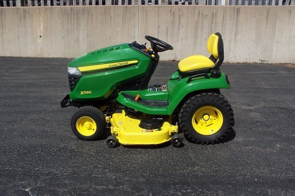 2017 John Deere X580 Riding Mower For Sale