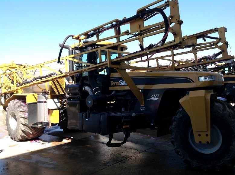 2013 Terra-Gator 7300 Floater/High Clearance Spreader For Sale