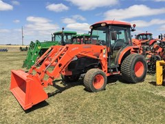 Tractor For Sale 2009 Kubota L5740HSTC , 59 HP