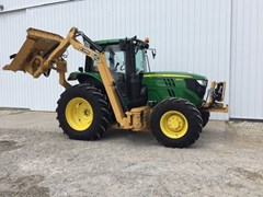 Tractor For Sale 2018 John Deere 6110M CAB-24AQ+ , 110 HP