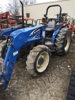 Tractor For Sale 2006 New Holland TN85A , 69 HP