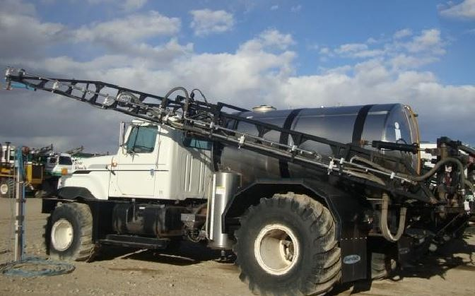 2002 Silverwheels 7500 Floater/High Clearance Spreader For Sale