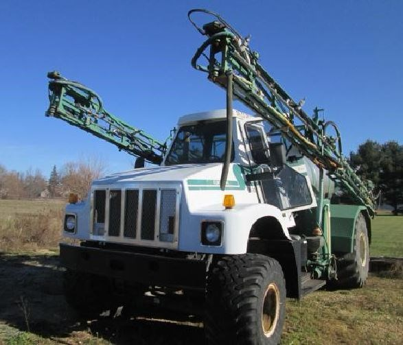 1996 Silverwheels 7500 Floater/High Clearance Spreader For Sale