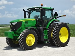 Tractor For Sale 2016 John Deere 6215R , 215 HP
