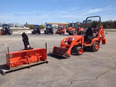 Loader Backhoe For Sale:  2015 Kubota BX25DLBR1