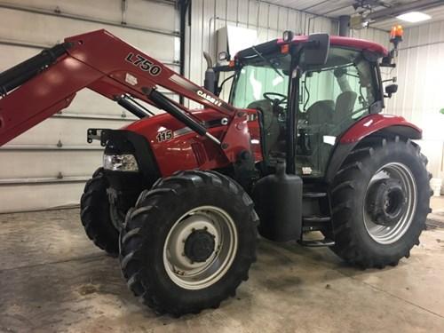 Tractor For Sale:  2011 Case IH MAXXUM 115 , 115 HP