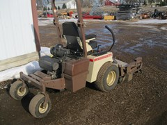 """Riding Mower For Sale 2011 Grasshopper 727 w/61"""" side discharge deck , 27 HP"""