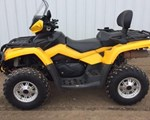 ATV For Sale: 2010 Can-Am 2010 Outlander Max XT 650 Yellow