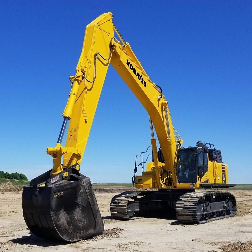 2018 Komatsu PC650LC-11 Excavator For Sale