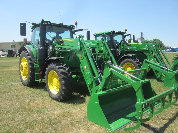 2015 John Deere 6155R Tractor For Sale