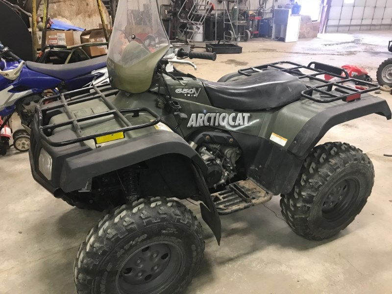 2004 Arctic Cat 650 ATV For Sale